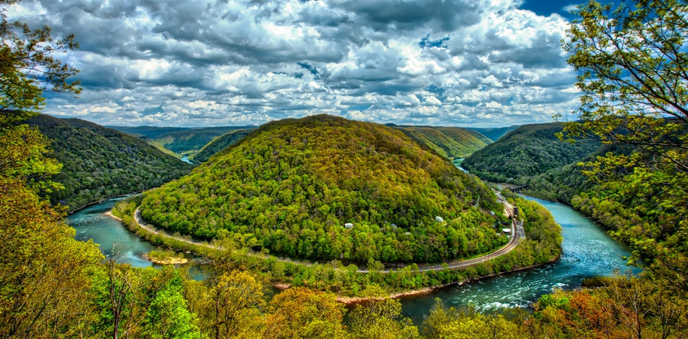 Concho Overlook to Thurmond, WV - by Chad Foreman